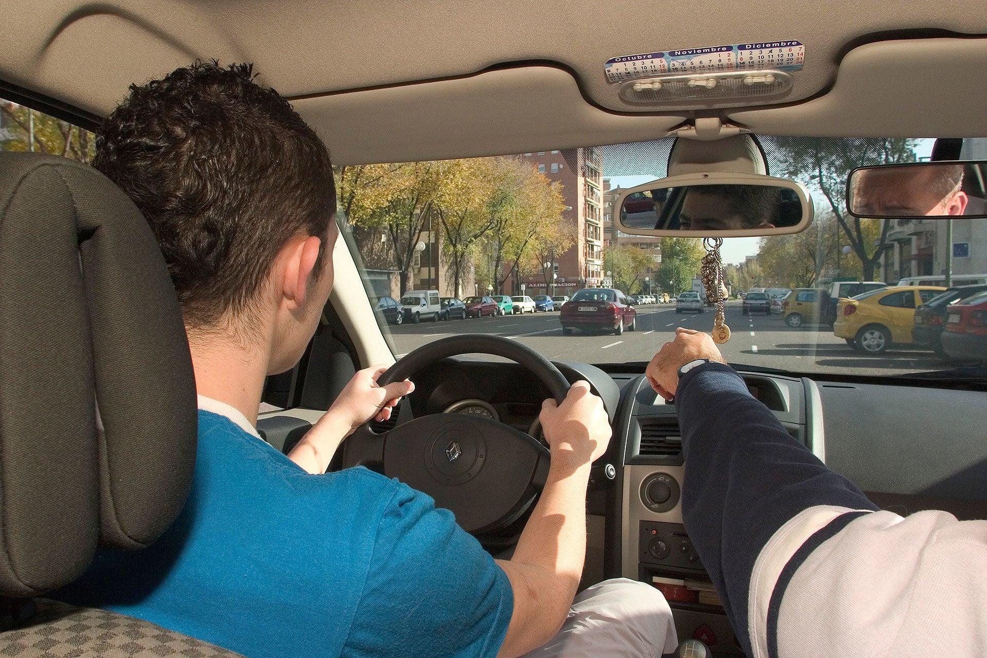 examen practico de conducir